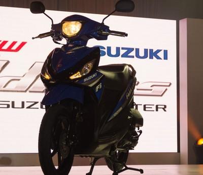 motor matic terbaik suzuki